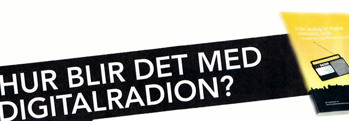 Samtal om digitalradio